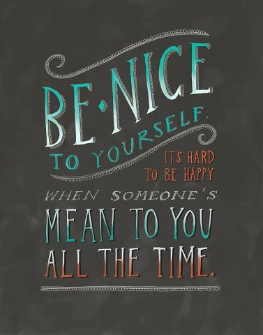February 10 Be Nice To Yourself Image