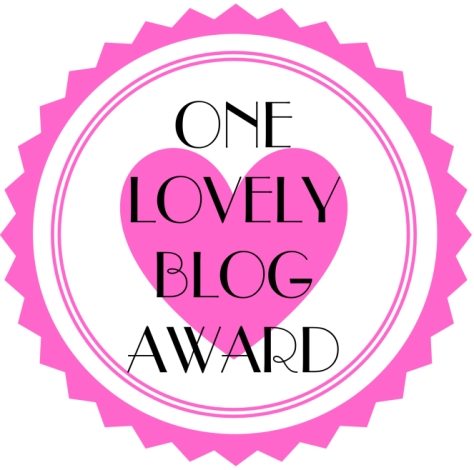 May 11 Lovely Blog Award Logo